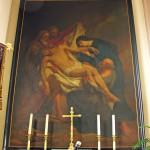 Kruisafneming, in Sint-Gertrudiskerk Zandvliet
